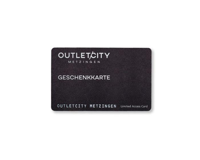 Die OUTLETCITY METZINGEN Geschenkkarte